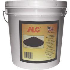 Alc Medium Aluminum Oxide Blasting Abrasive — 25 Lbs
