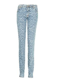 McQ Alexander McQueen Mid-Rise Woven Skinny Jeans