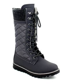 Refresh Polar Quilted Lace-Up Boot Warm Snow Boots, Snow Boots Women, Extreme Cold Weather Boots, Lace Up Boots, Knee Boots, Spring Fashion, Winter Fashion, Fashion Boots, How To Look Better