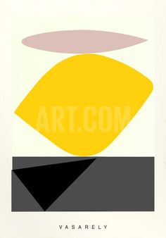 Souzon Serigraph by Victor Vasarely at Art.co.uk