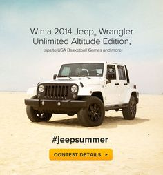 Jeep® has been an iconic & legendary sport utility vehicle for the past 70 years. Explore the Jeep® SUV & Crossover lineup. White Jeep, Jeep Suv, Jeep Wrangler Unlimited, 4x4