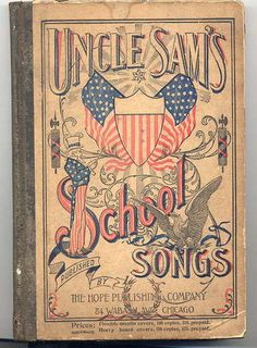 Uncle Sam's School Songs 1897