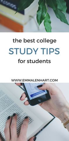 Awesome college study tips for students. Find out how to get your study schedule organized and take notes effectively in college. Find college study tips and time management hacks for success!