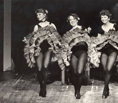 Three Women Faculty dancing in Can-Can Skirts :: Archives & Special Collections Digital Images