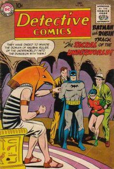 Batman - Cave - Robin - Jackal - Underworld