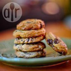 Cookies com gotas de chocolate @ allrecipes.com.br