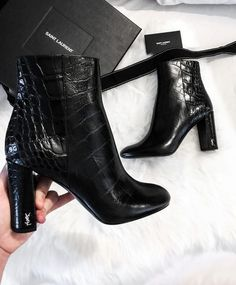 Boots you must own this Fall 2017 YSL Boots fall boots fall winter fashion Yves Laurent YSL Boots fall boots fall Winter fashion Yves Laurent YSL Boots fall boots fall winter fashion Yves Laurent # Ysl Boots, Heeled Boots, Shoe Boots, Ankle Boots, Rain Boots, Fall Shoes, Women's Shoes, Cute Shoes, Me Too Shoes