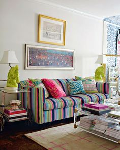 @Samantha de Caussin, made me think of you. Look at all this funky color!
