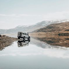 """lloydallslikes: """" The best way to see Iceland is with a good 4x4. Use the code GNC4x4 when you book with @isak4x4iceland for 10% off your trip. That way when you're on the ring road, you can leave the ring road, and maybe try a river or two. by..."""