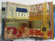 fabric journal by Ro Bruhn