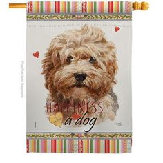 Breeze Decor Uniquely design for hanging indoor or outdoor use. We are committed to offering you exceptional values. Our customers enjoy displaying our house flag for longer periods. Dog Breed: Shaggy Havanese Source by wayfair The post Breeze Decor Bulldog Happiness – Impressions Decorative 2-Sided Polyester 40 x 28 in. House Flag Dog Breed: Shaggy Havanese appeared first on Sellers Canines.