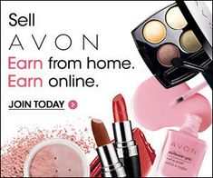 Sell Avon from home and from online.  Join today at YourAvon.com/MMcMurrin