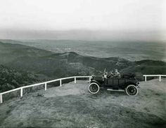 Historic Photograph of Looking South From Lookout Mountain, Just West Of Laurel Canyon Lookout Mountain, San Fernando Valley, Laurel Canyon, Los Angeles California, Vintage Hollywood, City, Places, Colorado, Photography