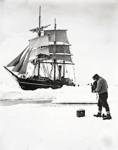 Lost Photos From One Of The First South Pole Expeditions