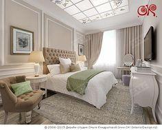 Дизайн спальни в стиле арт-деко - http://interior-design.pro/ru/dizayn-spalni-photo-interyerov