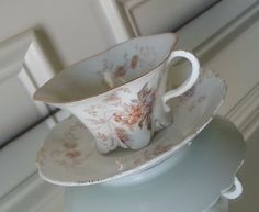 Antique early Rosenthal Versailles tea cup and door Pickedtwice