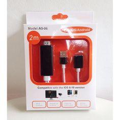 สำหรับคุณ<SP>Cable ios/Android to HDTV สายทศ ออก ทีวี ใช้ได้ทุกรุ่น ทุกยี่ห้อ For /S6 Edge plus/S7/Note7 Iphone (Black)สีดำ++Cable ios/Android to HDTV สายทศ ออก ทีวี ใช้ได้ทุกรุ่น ทุกยี่ห้อ For /S6 Edge plus/S7/Note7 Iphone (Black)สีดำ เป็นสาย ต่อโทรศัพท์ ออกทีวี ผ่าน HDMI ได้ทั้งภาพและเสียง ใช้ได้กับ โทรศัท์ ทุกรุ่น ทุกยี่ ...++