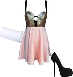 """New Years"" by shootforthesky ❤ liked on Polyvore"
