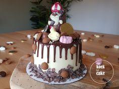 De leukste Sinterklaas dripcake voor jouw Sinterklaas! Bakery, December, Food And Drink, Cupcakes, Halloween, Party, Desserts, Van, Food Cakes