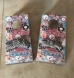 Mini Cornhole Boards 1 x 2 Personalized Yeti No. 15 Custom Coatings  Dallas, GA 678-883-6361