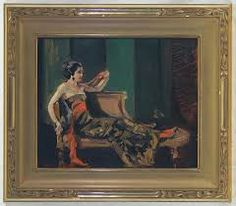 woman on chaise lounge - Google Search