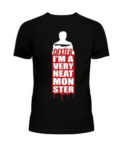 He's Got A Way With Murder.     Police forensics expert for the Miami Police Force during the day, Dexter moonlights by night as a serial killer of criminals that had escaped the justice system. Justice has its price but we're preparing to mark it down for this limited edition graphic t- shirt designed for every Dexter fans! Available for a limited time.Let's honor Dexter and all of his vigilante efforts by purchasing this graphic tee, for yourself, your family, friends and fellow fans…