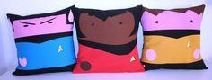 Star trek cinema kawaii pillow 3 pillow cushions by Morondanga