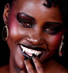 Black Vampire, Afro Punk Fashion, Goth Kids, Afro Samurai, Black Girl Aesthetic, Beauty Advice, Black Women Hairstyles, Alternative Fashion, Black Girls