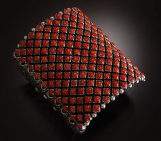 Coral Cluster Cuff by Alice and David DK Lister