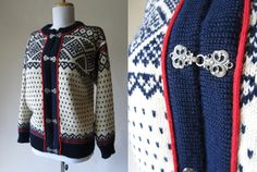 Vintage Nordic Sweater by Dale of Norway