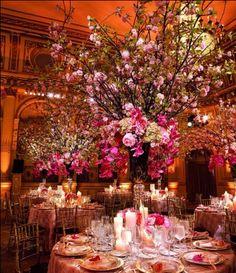 Location: The Plaza Hotel, New York, NY; Table and Floral Design: Design Fusion By Jerry Sibal, New York, NY; Photography: Brian Dorsey Studios, New York, NY