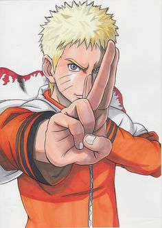 Naruto! pensando em desenhar