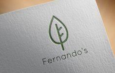 Fernando's vegetarian restaurant #logo
