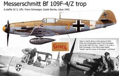 Messerschmitt Bf 109F-4/Z trop