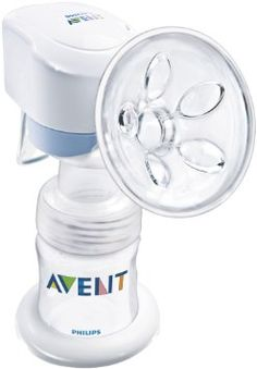 Philips AVENT SCF312/01 Electric Breast Pump (UK) The Philips AVENT Electric Breast Pump can also be used as a manual breast pump when that's more convenient.