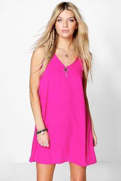 Soraia V Neck Slip Dress