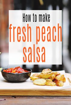 Fresh Peach Salsa Recipe - super easy salas to compliment salads or veggie burgers perhaps which is packed witht he goodness of peaches and tasty and tangy too   #salsa #peaches #peach #abeautifulspace Peach French Toast, Peach Salsa Recipes, Burger Fresh, French Toast Ingredients, Grillin And Chillin, Veggie Burgers, Vegetarian Recipes Easy, Slimming World Recipes, Fresh Lime Juice