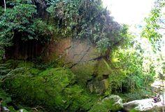 Parc National, Atlantis, Garden Bridge, Outdoor Structures, Stone, Face, Searching, Rainy Season, Search