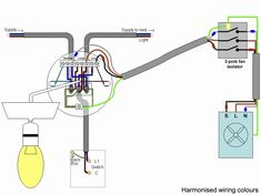 extractor fan wiring diagram technology in 2019. Black Bedroom Furniture Sets. Home Design Ideas