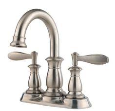 Bathroom Faucets Home Hardware delta valdosta spotshield brushed nickel 2-handle widespread