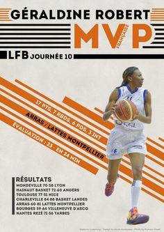 Géraldine Robert - MVP Française - LFB Journée #10