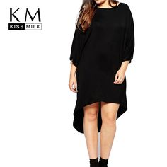 Plus Size Women Summer Dress Big Size Sexy Solid Round-neck Long Loose Comfortable Dress 3XL 4XL 6XL