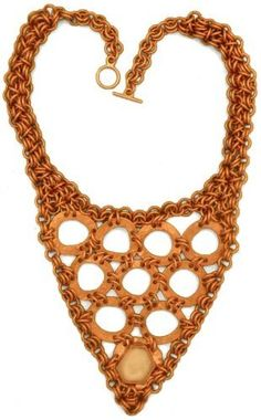Crystal Chain Maille. $119.99+shipping. This is one of our masterpieces. Amazing in its free form symmetry and high-energy presence.  DobezDesignz.com, http://www.amazon.com/dp/B00B0XZT1Q/ref=cm_sw_r_pi_dp_FWq9qb0X3VE04