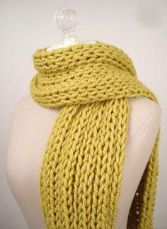 Christmas Gift Striking Striped Tassle Knit Circle Loop Infinity Scarf Snood