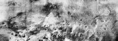 """Фотография поверхности Марса, полученная с автоматической межпланетной станции """"Марс-5"""", 24 сентября 1974 года"""