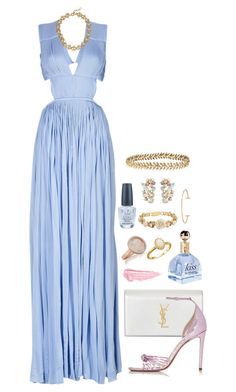 """""""Opal"""" by claire8ken ❤ liked on Polyvore featuring Vionnet, Ellen Hunter, Prada, By Terry, Susan Caplan Vintage, Monica Vinader, J.Crew, Ginette NY, Yves Saint Laurent and Altuzarra"""