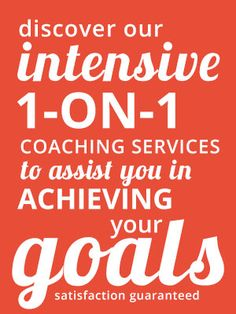 Discover Our Coaching Services