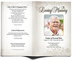 Free Memorial Service Program Template - √ 25 Free Memorial Service Program Template , Our Favorite Actually Free Funeral Program Templates Memorial Cards, Funeral Memorial, Memorial Ideas, Lds Funeral, Pamphlet Template, Brochure Template, Checklist Template, Flyer Template, Funeral Program Template Free