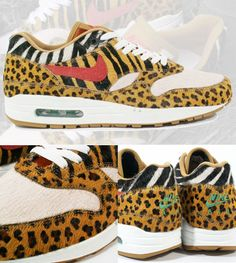 a3166f9faf4 Nike Sportswear WMNS  Leopard Pack  - Air Max 1   Dunk High Back in I slept  on the Nike Air Max 1  Safari Pack  that dropped at atmos Tokyo.