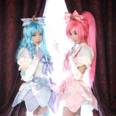 Moe Overload Tomia and Friends Heartcatch Precure Cosplay – Strawberry Death Kiss